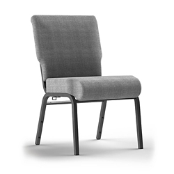 Armless Stack Chair with Ganging Brackets, 51088