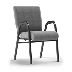 Stacking Chair with Arms and Ganging Bracket, 51089