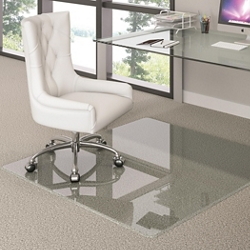 "36"" x 46"" Glass Chairmat , 91516"