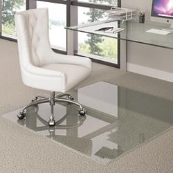 "44"" x 50"" Glass Chairmat , 91517"
