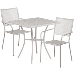 "28""W Table and FourChairs, 86318"