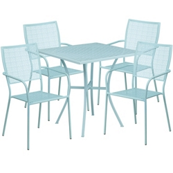 "35.5""W Table and Four Chairs, 86322"