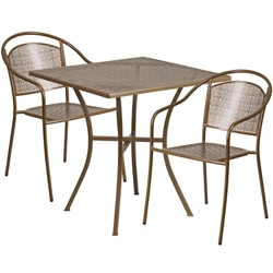 "28""W Table and Two Chairs, 86319"