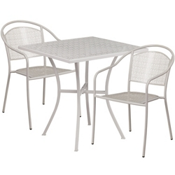 "28"" Folding Table and Two Armchairs, 86311"