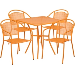 "28""W Table and Four Chairs, 86320"
