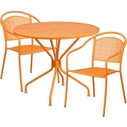 "35.25"" Table and Two Armchair Set, 86327"