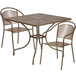 "35.5""W Table and Two Chairs, 86323"