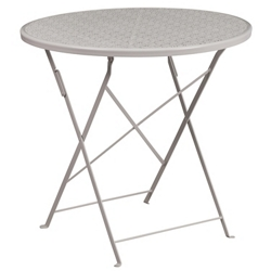 "Folding Patio Table - 30""W, 86305"