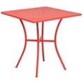 "Steel Patio Table - 28""W , 86306"