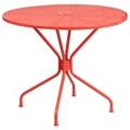 "Steel Patio Table - 35.25""W , 86308"
