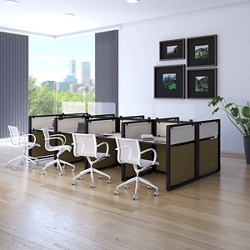 "144""x72"" Eight Workstation Set, 22580"
