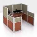 "72""x72"" Multi Height Workstation, 22575"