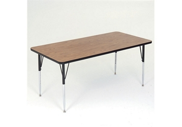 "Adjustable Height Rectangular Table 60"" x 30"", 46313"