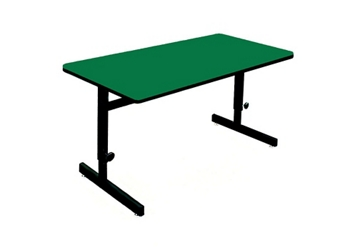 "Adjustable Height Table 60"" x 24"", 46726"