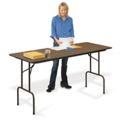 "Melamine Standing Height Folding Table - 36""H, 41625"