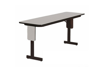 "Adjustable Height Panel Leg Table 96"" x 24"", 46364"