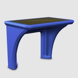 Durable Flame Retardant Polyethylene Desk, 11356