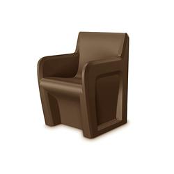 Behavioral Health Armchair with Ballast Door, 26101