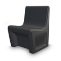 Behavioral Health Armless Chair with Ballast Door, 26103