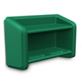 Durable Flame Retardant Polyethylene Wall Shelf, 36956
