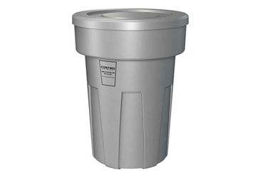 50 Gallon Fire Retardant Heavy Duty Waste Receptacle, 87104