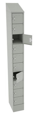 "83""H x 9""W Cell Phone Tablet Locker, 38700"