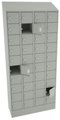 "83""H x 36""W Cell Phone Tablet Locker, 38701"