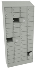 "83""H x 36""W Cell Phone Tablet Locker, 38703"