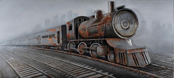 Downtown Train Wall Décor, 92245