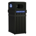 25 Gallon Waste Receptacle with Oval Opening, 85632