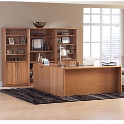Medium Oak Complete Office Set, 14801