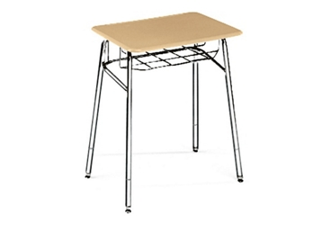 "Adjustable Height Study Top Desk with Steel Glides -  24"" to 30""H, 10279"