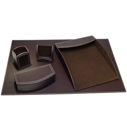 Five Piece Desk Accessory Set, 90008