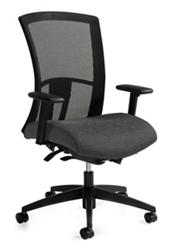 High Back Synchro-Tilter Mesh Back Task Chair, 57215