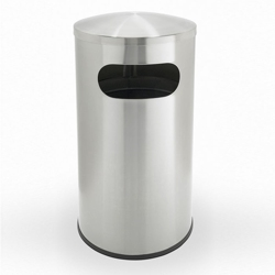 Stainless Steel Waste Receptacle - 15 Gallon, 87252