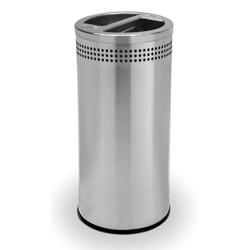 Trash and Mixed Recycling Receptacle - 20 Gallon, 87256