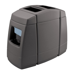 55 Gallon Waste Receptacle with 2 Windshield Wash Stations, 87503