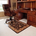 "45"" x 53"" Vinyl Chair Mat for Hard Floors - Meridian Design, 54266"