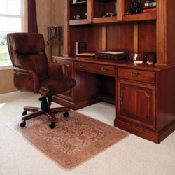 "36"" x 48"" Vinyl Chair Mat for Hard Floors - Bristol Design, 54276"