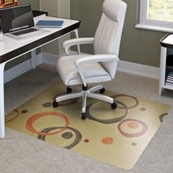 """Contemporary Chair Mat - 45"""" x 53"""", 54936"""