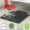 """Classic Chair Mat with Lip 36""""W x 48""""D for Hard Floors, 54486"""