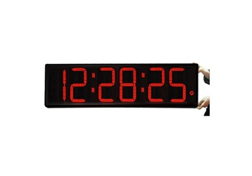 "Jumbo LED Timer Clock with 9"" Numerals - 43""W, 82761"