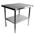 "Stainless Steel Table - 36""W x 30""D, 41725"