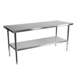 "Stainless Steel Table - 72""W x 30""D, 41726"