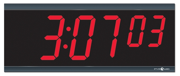 "LED Digital Clock 11""W x 6""H, 82781"