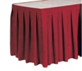 "Box Style Table Skirting - 210"" x 29"", 80427"
