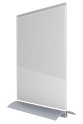 Acrylic Desktop Sign Frame - Portrait Letter-Sized, 82854