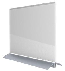Acrylic Desktop Sign Frame - Landscape Letter-Sized, 82855