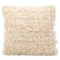 """kathy ireland by Nourison Loop Shag Square Accent Pillow - 20""""W x 20""""H, 82162"""