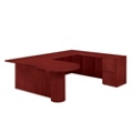 "Peninsula U Desk with Right Return - 72""W x 104""D, 13621"